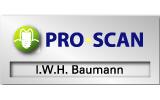 Profiliertes Namensschild mit Frontplatte